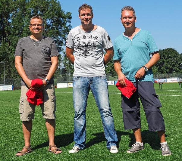 Peter Saupp, Markus Rasch, Frank Rechenberg es fehlt Jörg Stainowski
